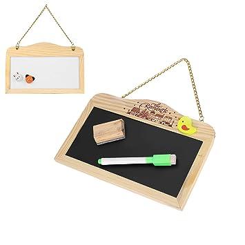Pizarras magnéticas rectangulares para colgar pequeños mensajes de ...