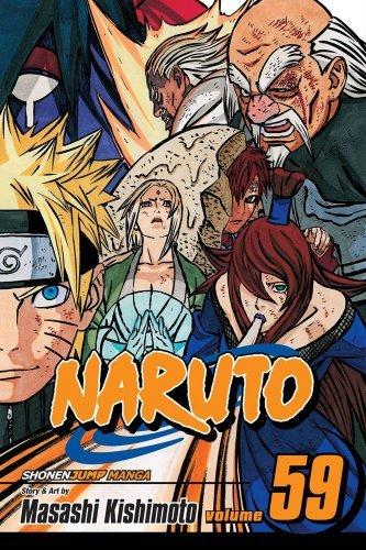 Amazon.com: Naruto, Vol. 59: The Five Kage (Naruto Graphic ...