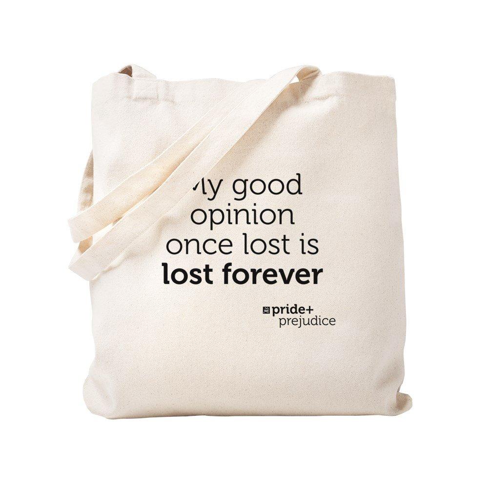 522d6da5d330 Amazon.com  CafePress - Pride And Prejudice-Opinion - Natural Canvas Tote  Bag
