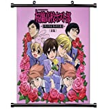 "Ouran High School Host Club Anime Fabric Wall Scroll Poster (16"" x 16"") Inches. [WP]-Ouran-53"