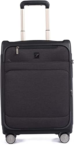 Totell 20 inch Expandable Business Suitcase Lightweight Spinner Carry on Luggage
