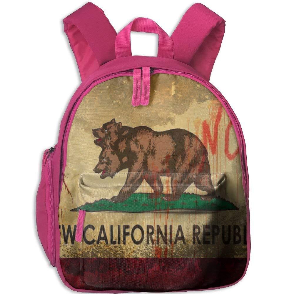 hgfdhfgjrfj Backpack California Bear Bag Canvas Backpack School Bag OWVYANQL31ST0V6KHF92-0-0