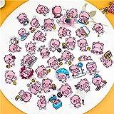 40pcs Creative Kawaii Self-Made Pink toot Pig