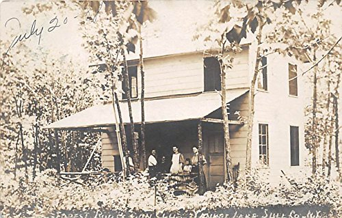 - Forest Rod & Con Club Real Photo Yankee Lake, New York, Postcard