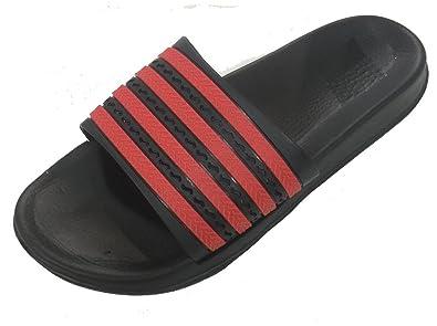 20aaa7ddd9115e Gear One Men s Rubber Sandal Slipper Comfortable Shower Beach Shoe Slip On  Flip Flop Red