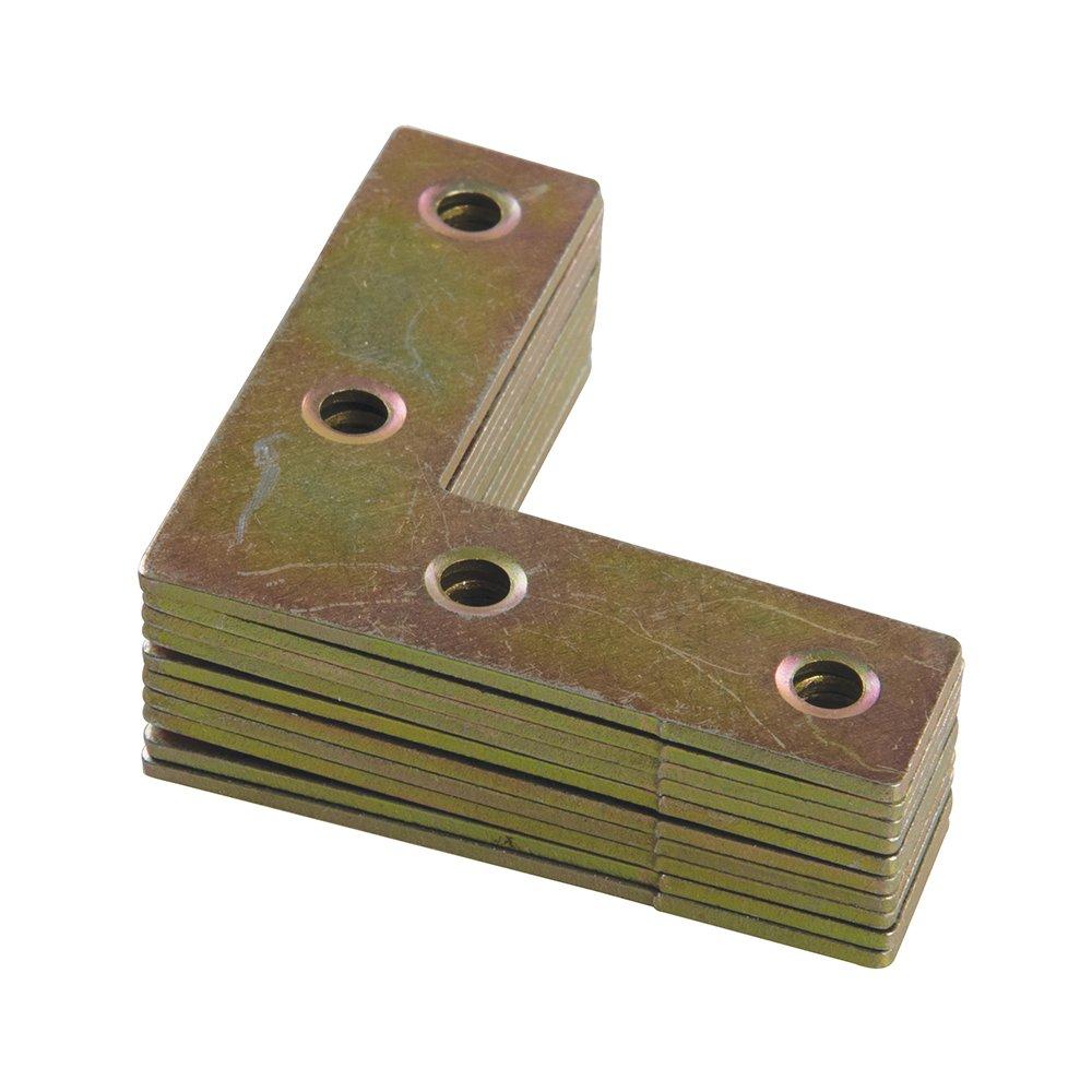 plata Fixman 816510 Escuadras Set de 10 Piezas