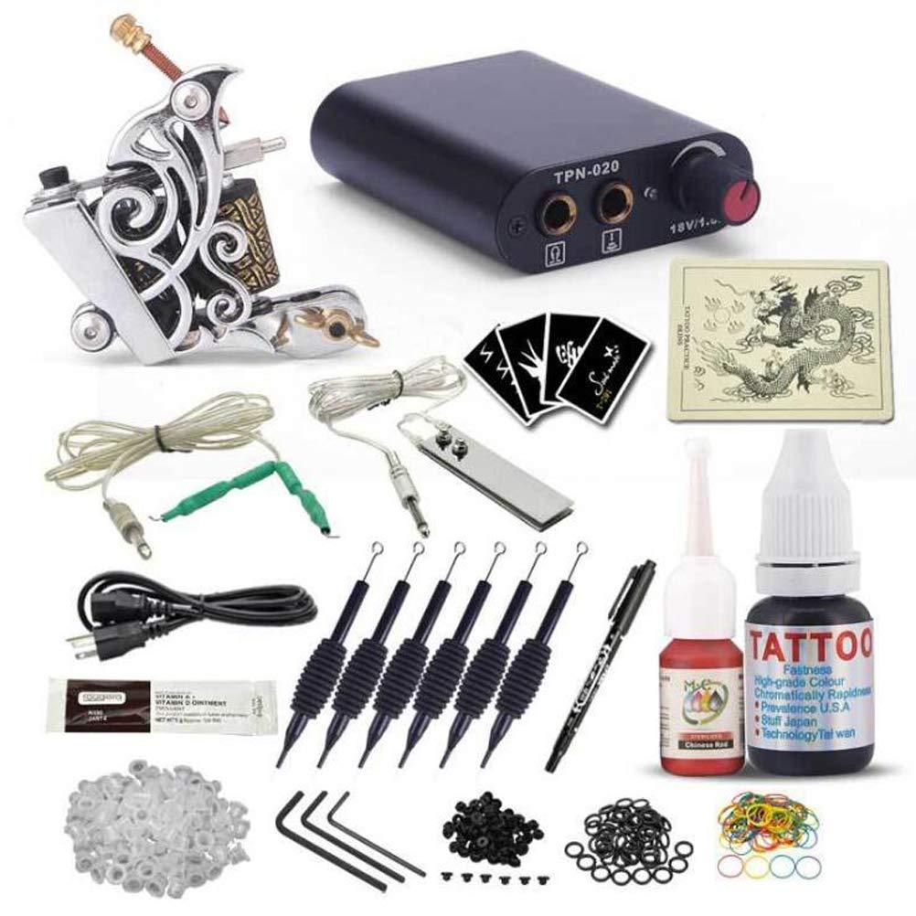 Tattoo Kit Tattoo Machine Suit Beginner Tattoo Equipment Self Study Full Set Profession Tattoo Tool