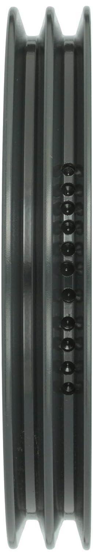 Uses H Bushing 4L or A Browning 2AK94H Bushed Classical Gripbelt Sheave 3L Belt 2 Grooves