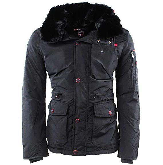 GEOGRAPHICAL NORWAY DAMEN Jacke gefütterte Alaska Winter Ski