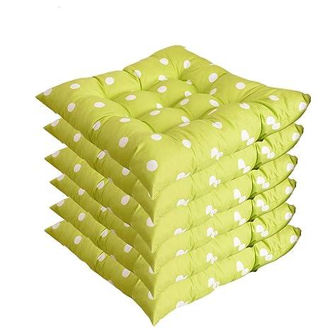 AGDLLYD 6 cómodos Cojines para Silla,Cojines de Silla ...