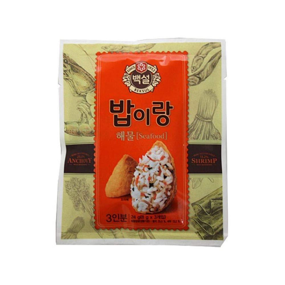 CJ Beksul Rice Furikake (Seafood) 8g x 3 (24g)