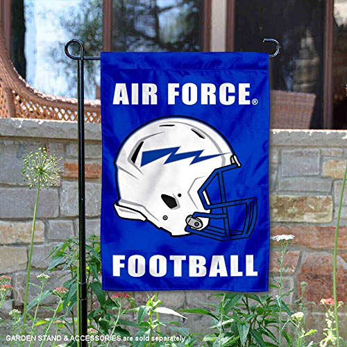 - College Flags and Banners Co. Air Force Falcons Football Helmet Garden Yard Flag