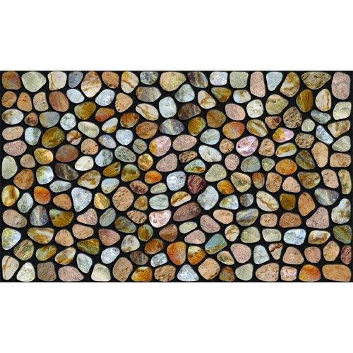 Apache Mills Inc 772-1029-2236 22x36-Inch Masterpiece Lehigh Pebble Beach Mat 60-772-1029-22x36