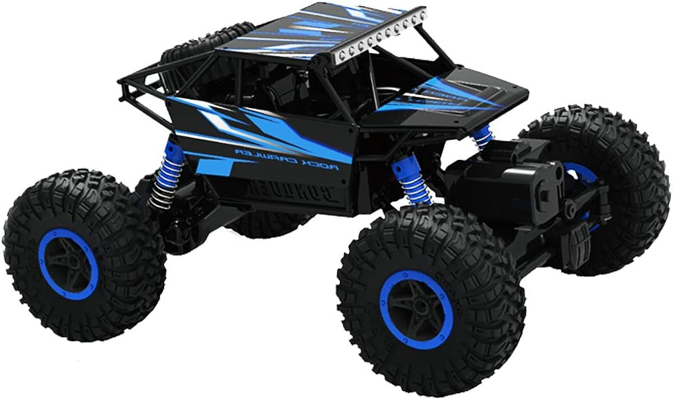 Top Race RC Control remoto Coche Rock Crawler / Monster Truck 4WD / Off Road cars 2.4 GHz Baterías Vehículo de juguete. TR-130