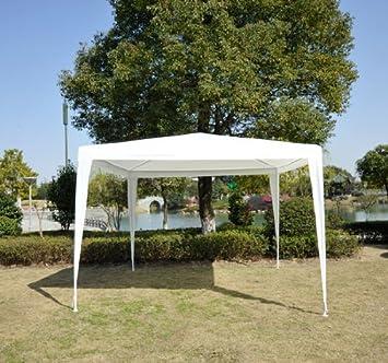 Carpa 3x3m Desmontable Estructura Acero Tela Poliester Impermeable 90 g/m2 Fiestas Eventos Bodas: Amazon.es: Jardín
