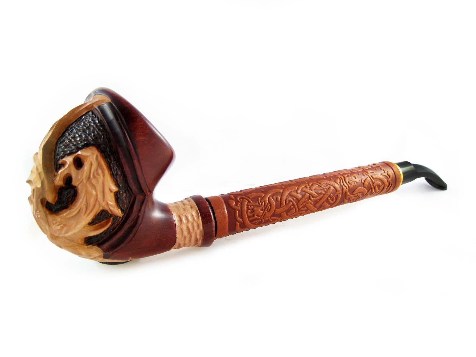 Exclusive Fashion Pipes - Long Churchwarden ''DRAGON'' Tobacco Smoking Pipe (2, 2) by Fashion Pipes (Image #2)