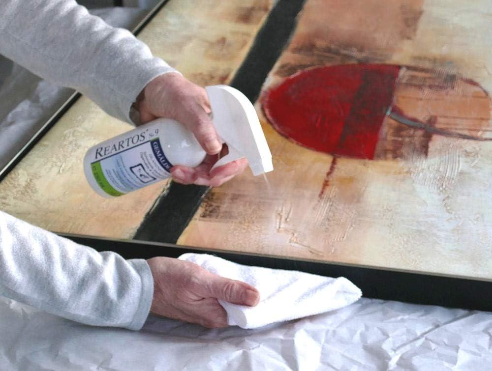 Reartos No9 - Cuidado de pintura al óleo, pinturas acrílicas ...