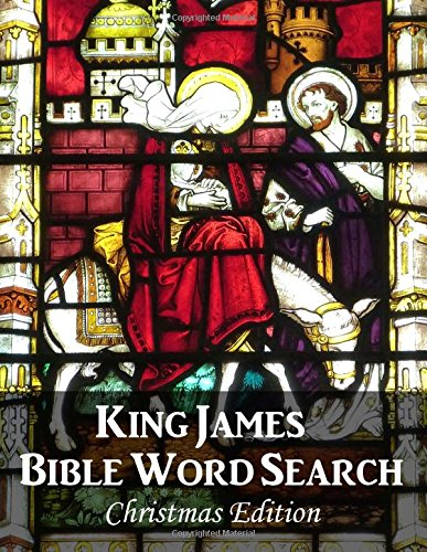 King James Bible Word Search (Christmas Edition) pdf epub