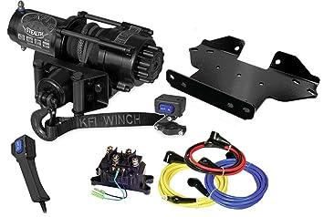 Amazoncom Kfi Combo Kit Se35 Stealth Winch Winch Mount