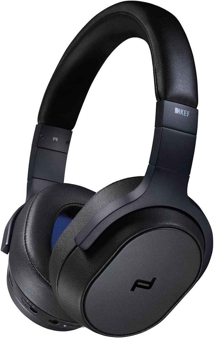 KEF Porsche Design SPACE ONE WIRELESS Over-Ear Noise Cancelling Bluetooth Headphones Black