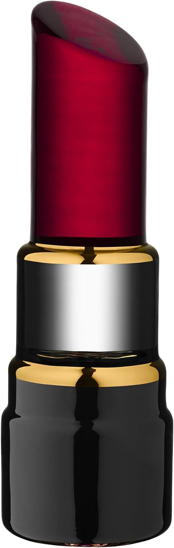 Kosta Boda Make Up Lipstick Sculpture, Raspberry