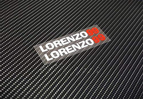 Lorenzo Cross - Graven Moto Gp Jorge Lorenzo No.99 stickers motocross car styling reflective decals motorcycle racing helmets ATV