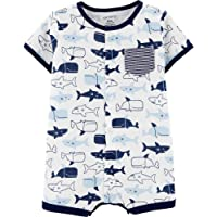 Carter's Baby Boys' Whale Snap-Up Romper (6 Months)