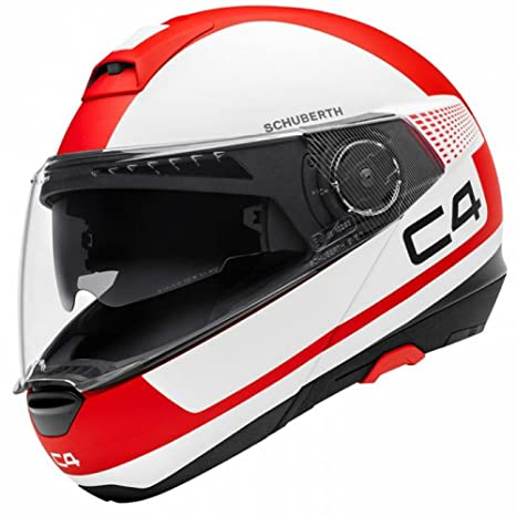 Schuberth C4 Legacy Red Motorcycle Helmet