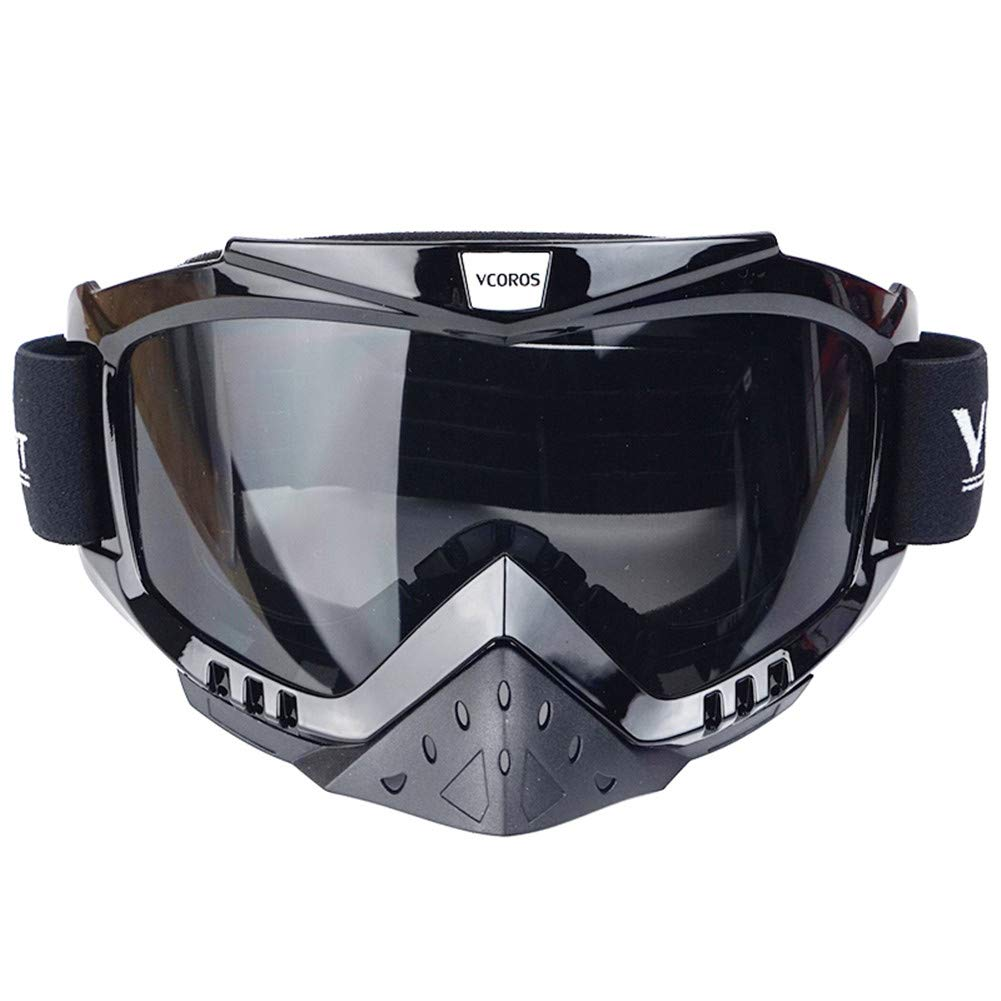 VG-01 Rainbow Lens VCOROS Tinted MX Motocross Goggles For Adult /& Youth Offroad Dirtbike Downhill DH 100 ATV Riding Goggles