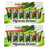 Xtreme Green Fuel Max Plus+ for Gas and Diesel - Boosts Power and Performance - Reduces Harmful Emissions & Improve Fuel Economy - One Shot Does It All! (6 x 20ml bottle/pack - Pack of 2)