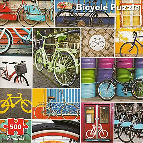 Bicycle Puzzle 500 Piece Re Marks