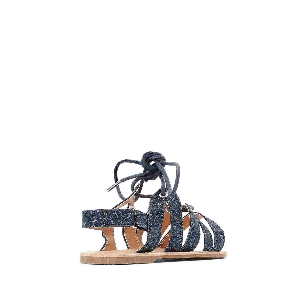 1279bbf8c768a Amazon.com: La Redoute Collections Big Girls Sparkly Sandals Blue ...