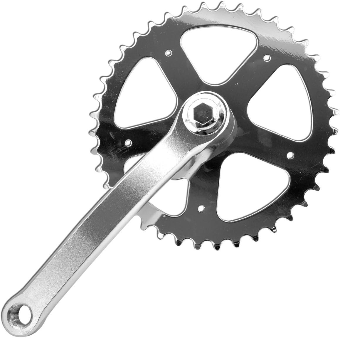 Piñones y bielas, entrada BMX fija, 165 mm, 40 dientes, bicicleta ...