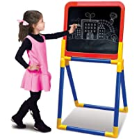 JohnMacc 2 in 1 Drawing Board for Writing, Drawing, and Painting for Kids Education