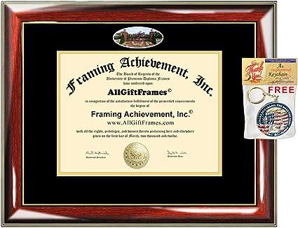 AllGiftFrames LIU Diploma Frame Long Island University Post School Campus Photo Custom Degree Framing Document Graduation Gift Bachelor Master MBA Doctorate PHD Certificate Double Mat Holder
