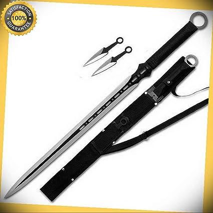 27 Full Tang Tactical Blade Katana Ninja Sword Machete ...
