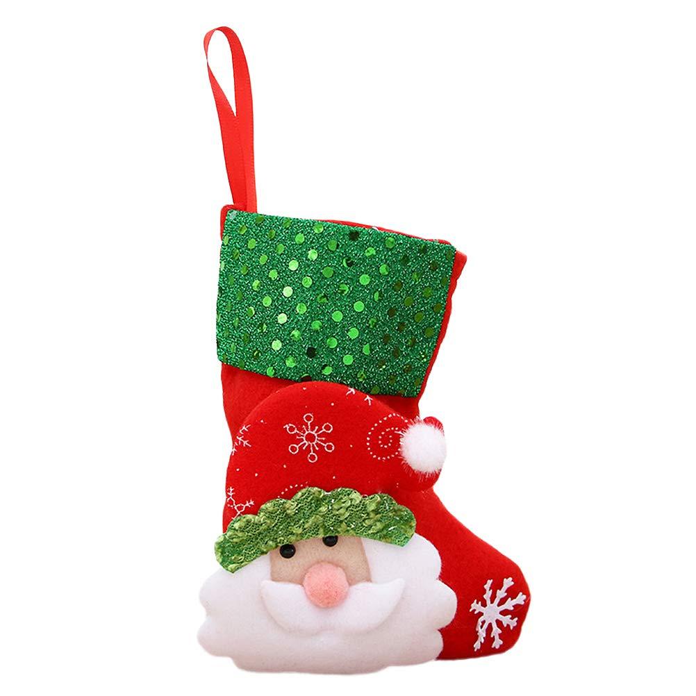 Christmas Gift Handbag Candy Bag Santa Claus Candy Bags Xmas Decor LH