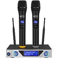TONOR Sistema de Micrófono Inalámbrico de Mano VHF