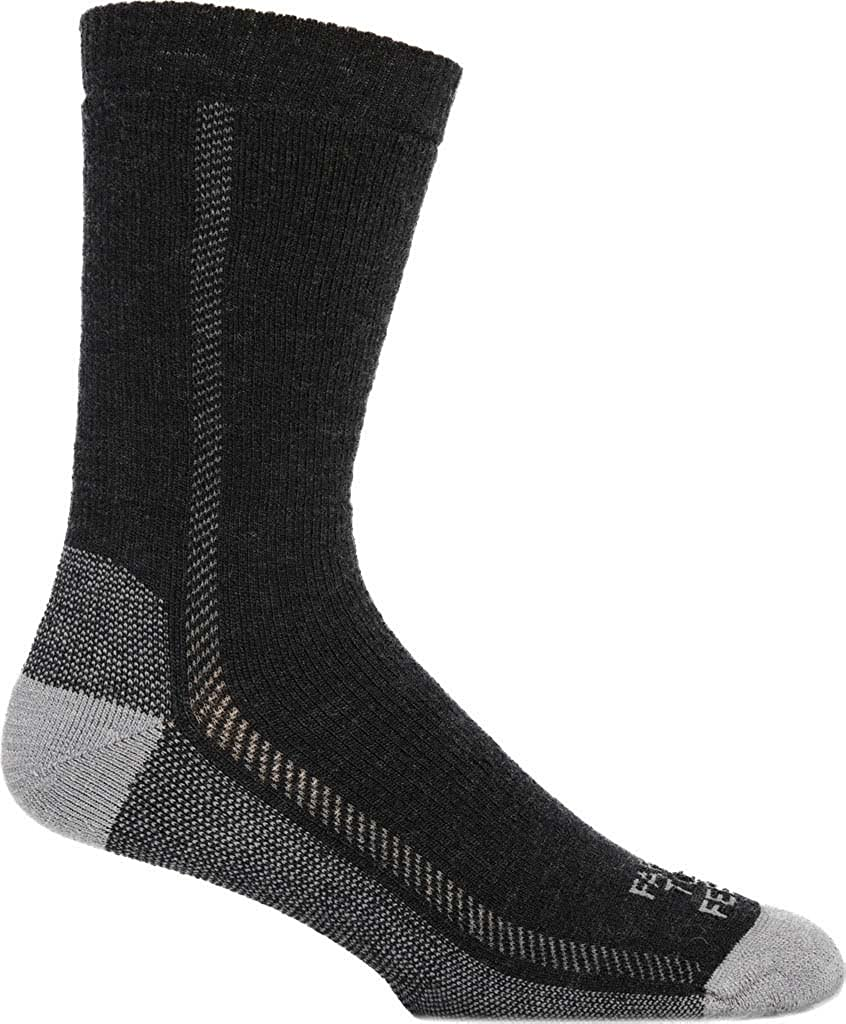 Farm To Feet Mens Madison Midweight Solid Hiker Sock