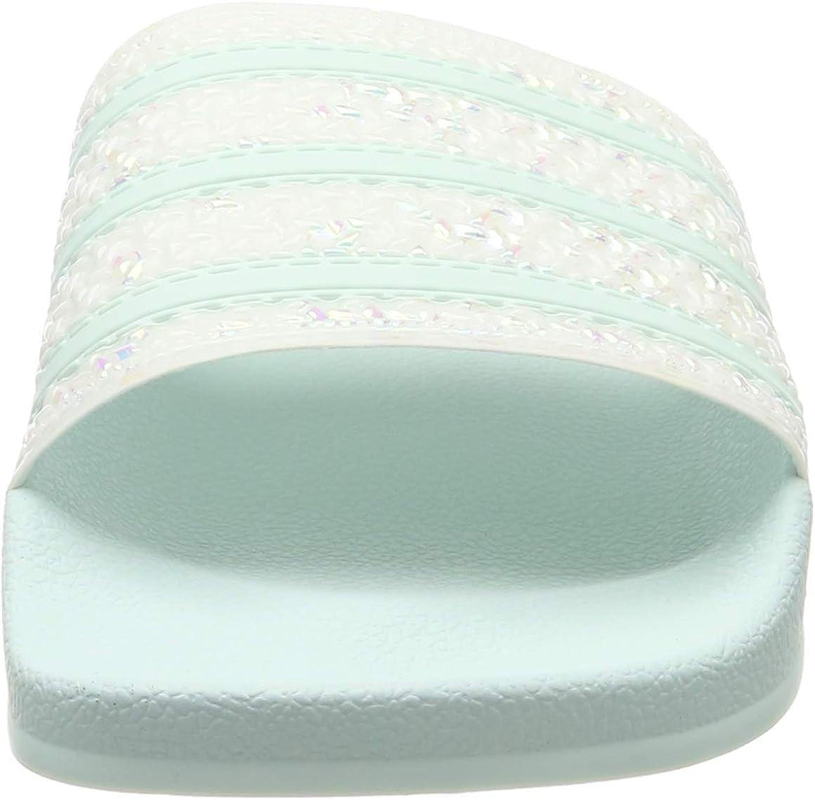 adidas Adilette W, Zapatos de Playa y Piscina para Mujer Blanco Ftwr White Ftwr White Ftwr White Ftwr White Ftwr White Ftwr White
