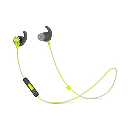 JBL Reflect Mini 2 - Auriculares deportivos inalámbricos ligeros, color verde