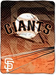 Officially Licensed MLB Speed Raschel Throw Blanket, Soft & Cozy, Washable, Throws & Bedding, 6