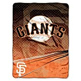 : The Northwest Company MLB Speed Plush Raschel Throw Blanket
