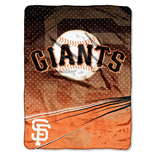 The Northwest Company MLB San Francisco Giants MLB Speed Raschel Throw Blanket, 60