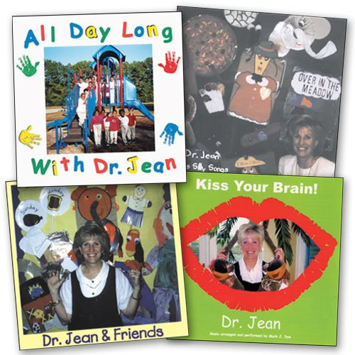 Kaplan Early Learning Company Dr. Jean's CD Collection - Set of 4