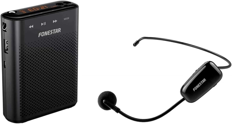 Altavoz Amplificador portátil con Micrófono Inalámbrico (Alta Potencia 30W MAX) USB/MICROSD/MP3 ALTA-VOZ-W30. Especialmente indicado para Profesores y Grupos pequeños