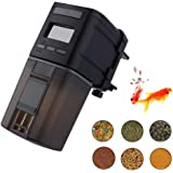 Fish Feeder, Automatic Fish Feeder, MONOLED Auto Aquarium Food Dispenser Timer for Fish Tank (Batteries Included)