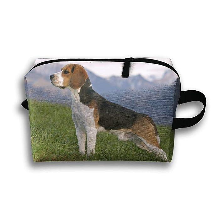 6a9f9cc74484 Amazon.com: Travelling Clutch Bag Beagles Dog Cosmetic Case ...