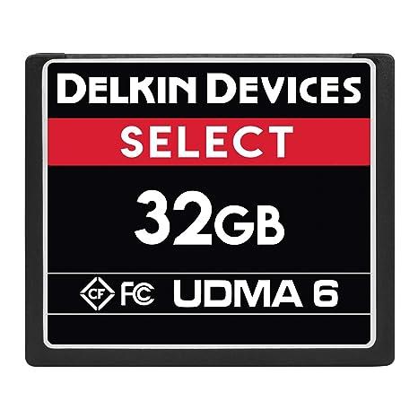 Amazon.com: Delkin - Tarjeta de memoria flash compacta de 32 ...