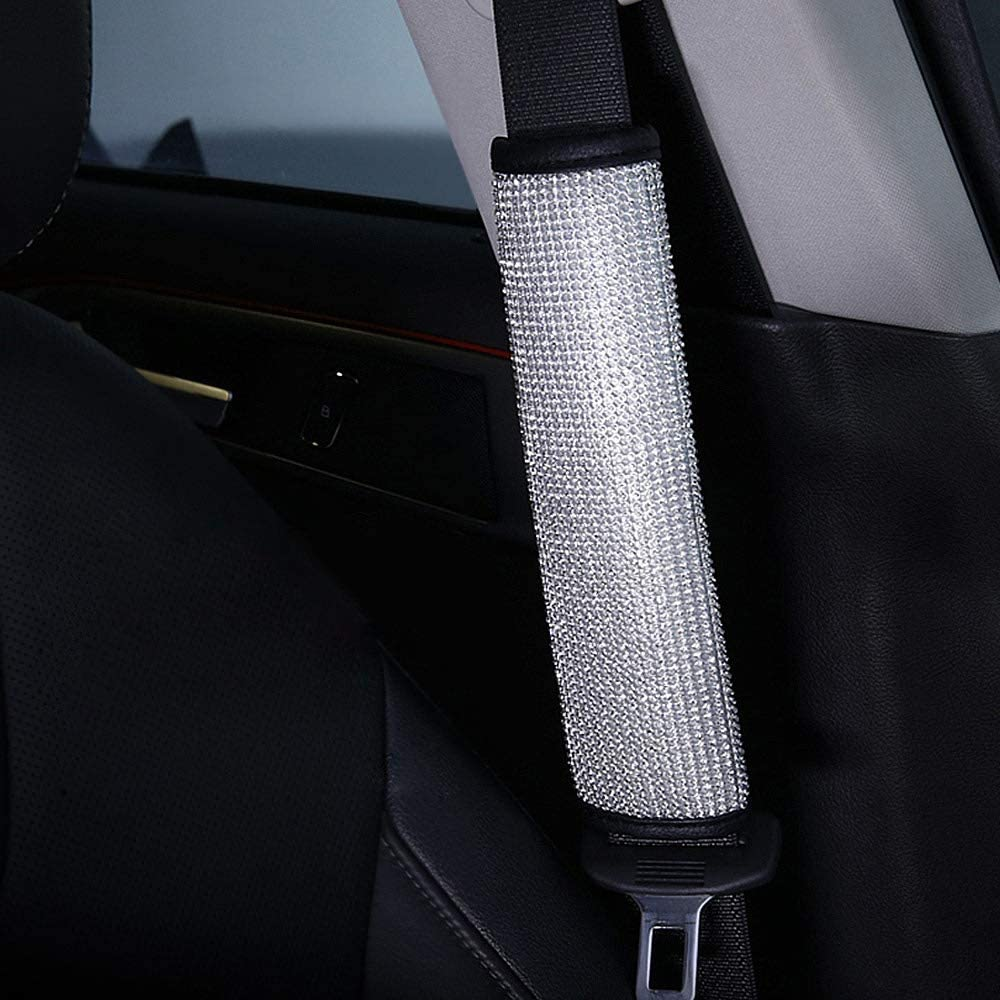 Queen ONLY A - Hand Brake Cover Auto Handbrake Cover with Luxury Shinning Crown /& Bling Rhinestones Car Decor Accessory